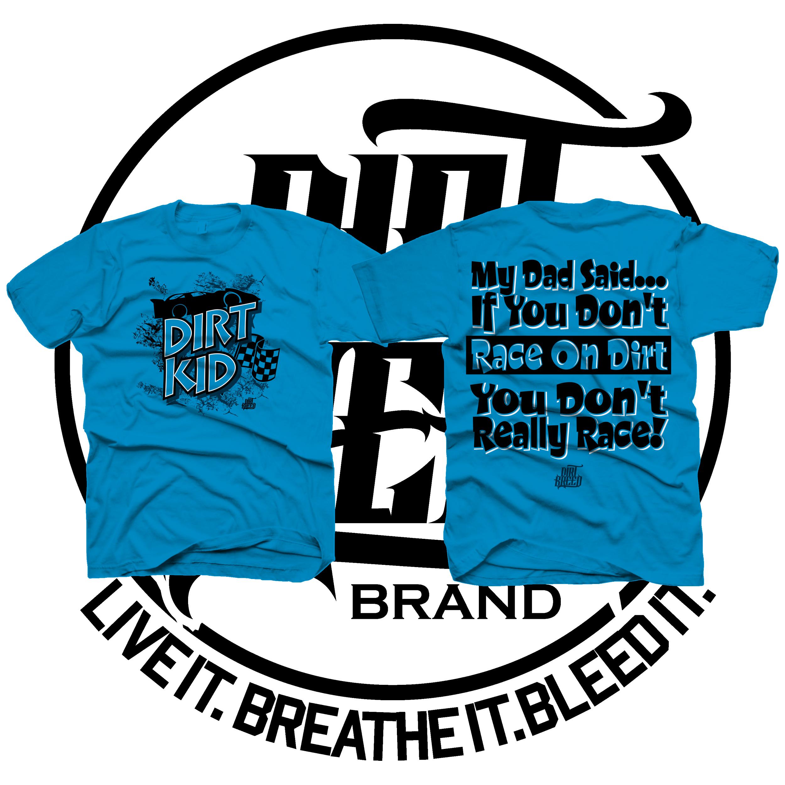 DirtKid Dirt Track Racing Kids T-Shirt