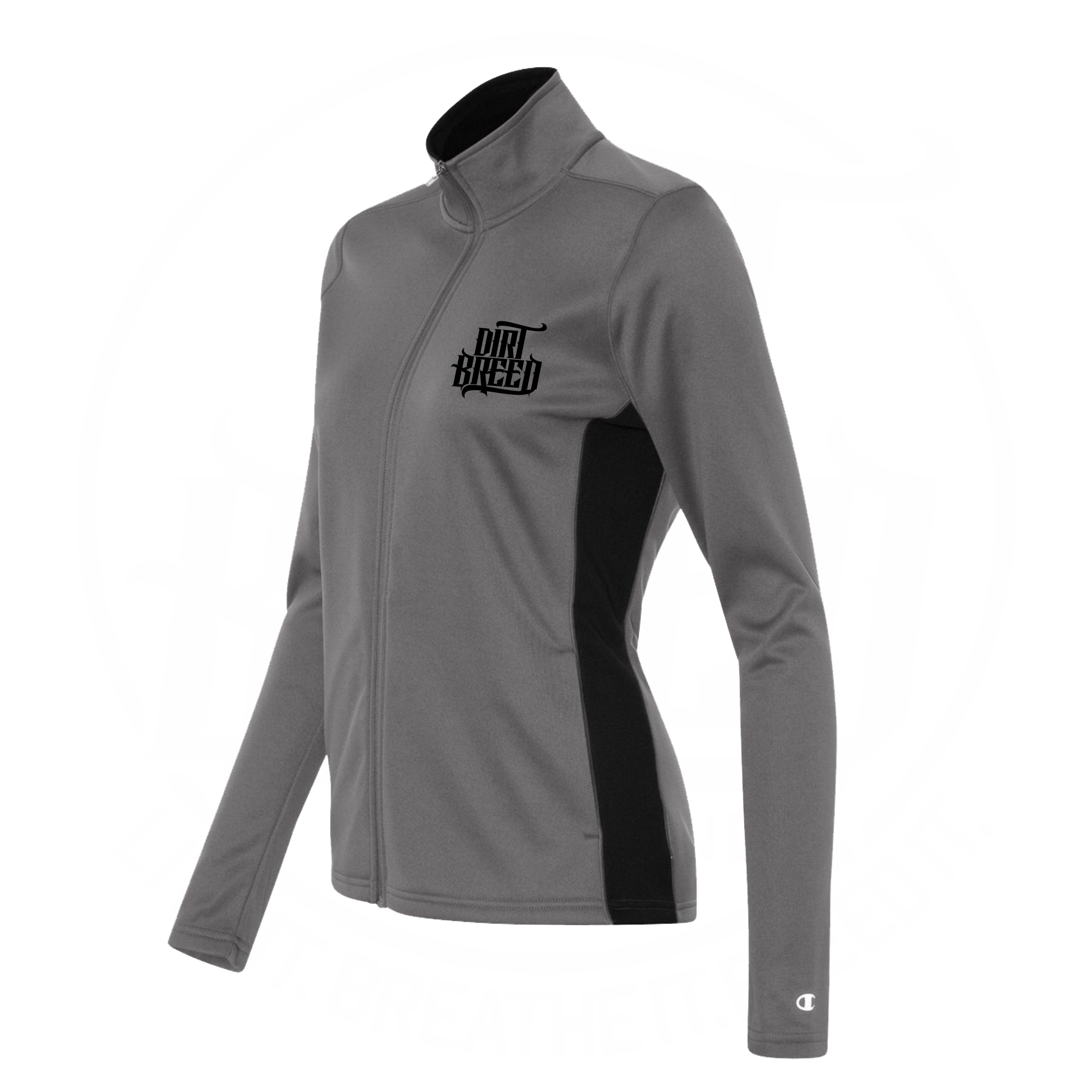 Ladies Full Zip Dirt Track Racing Fleece Jacket