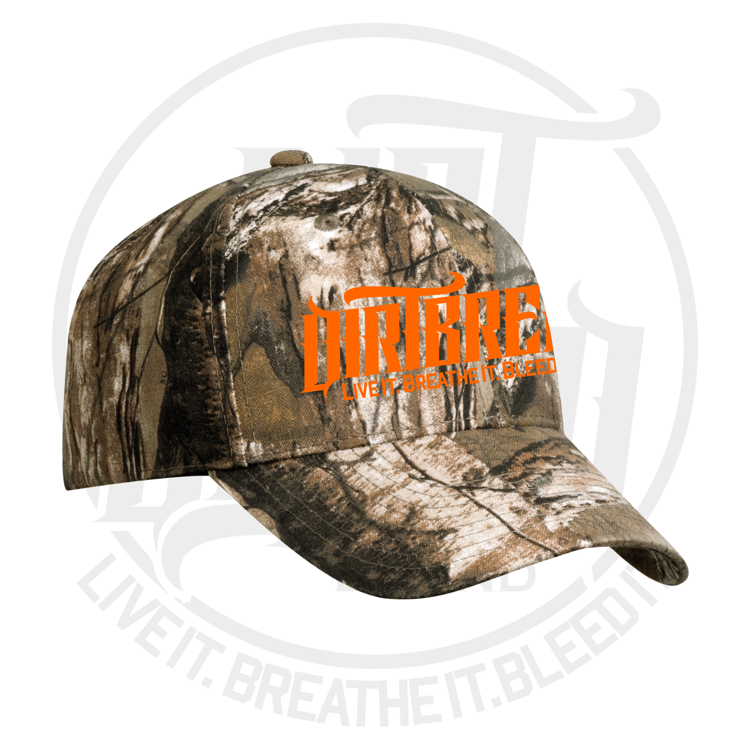 DirtBreed Dirt Track Racing Camo Hat RealTree