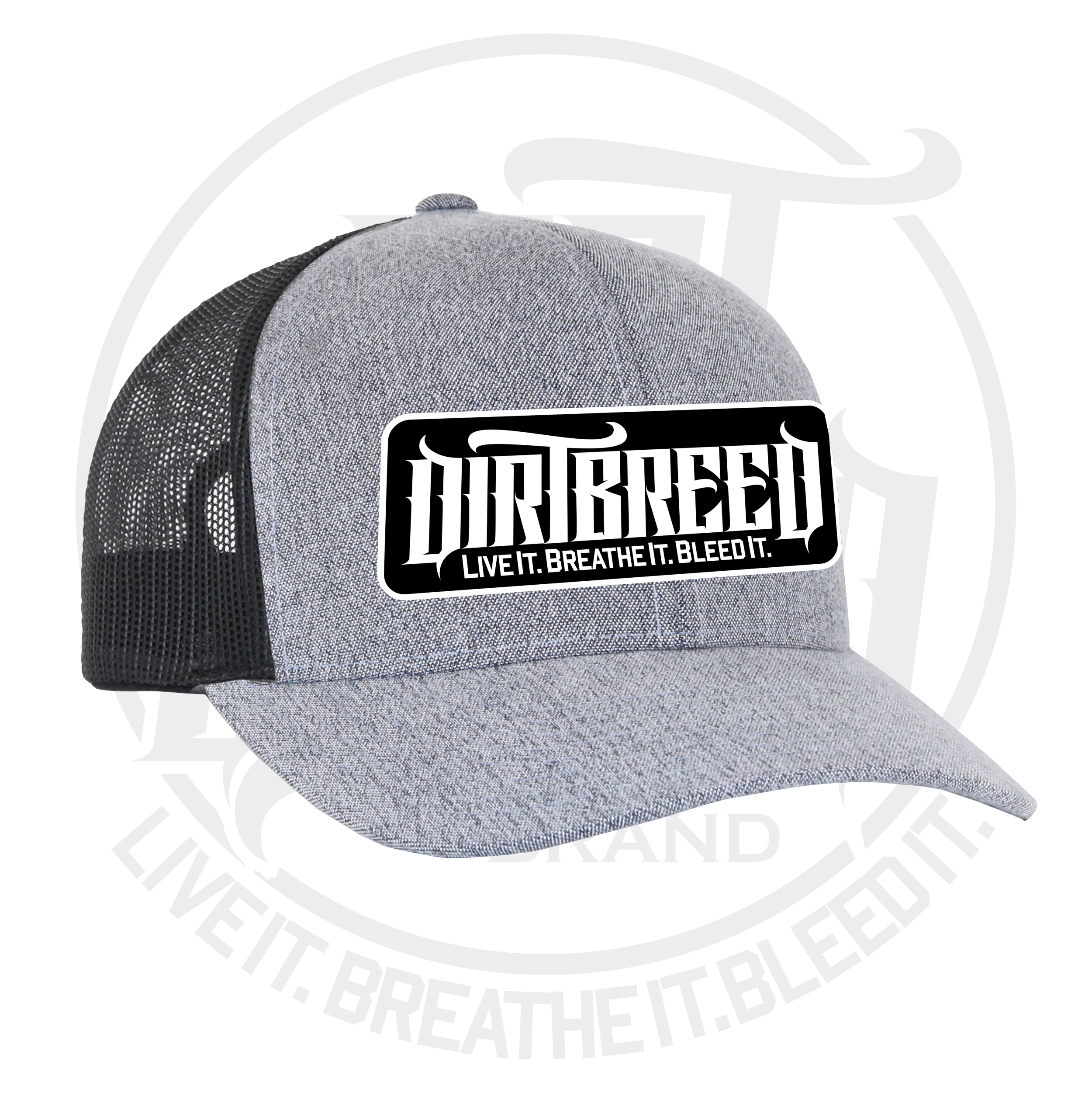 DirtBreed mesh back dirt track trucker hat