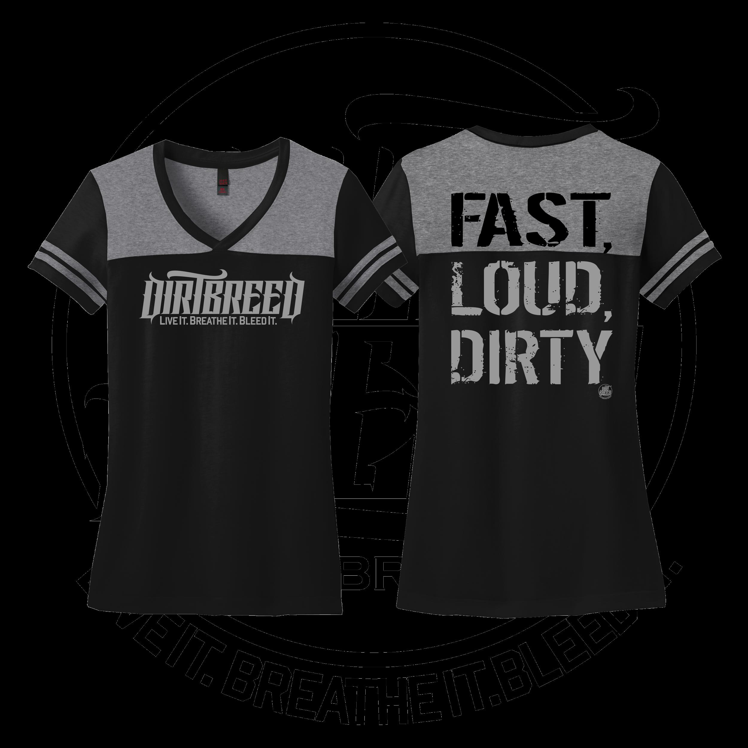 Ladies Dirt Track Racing Shirt