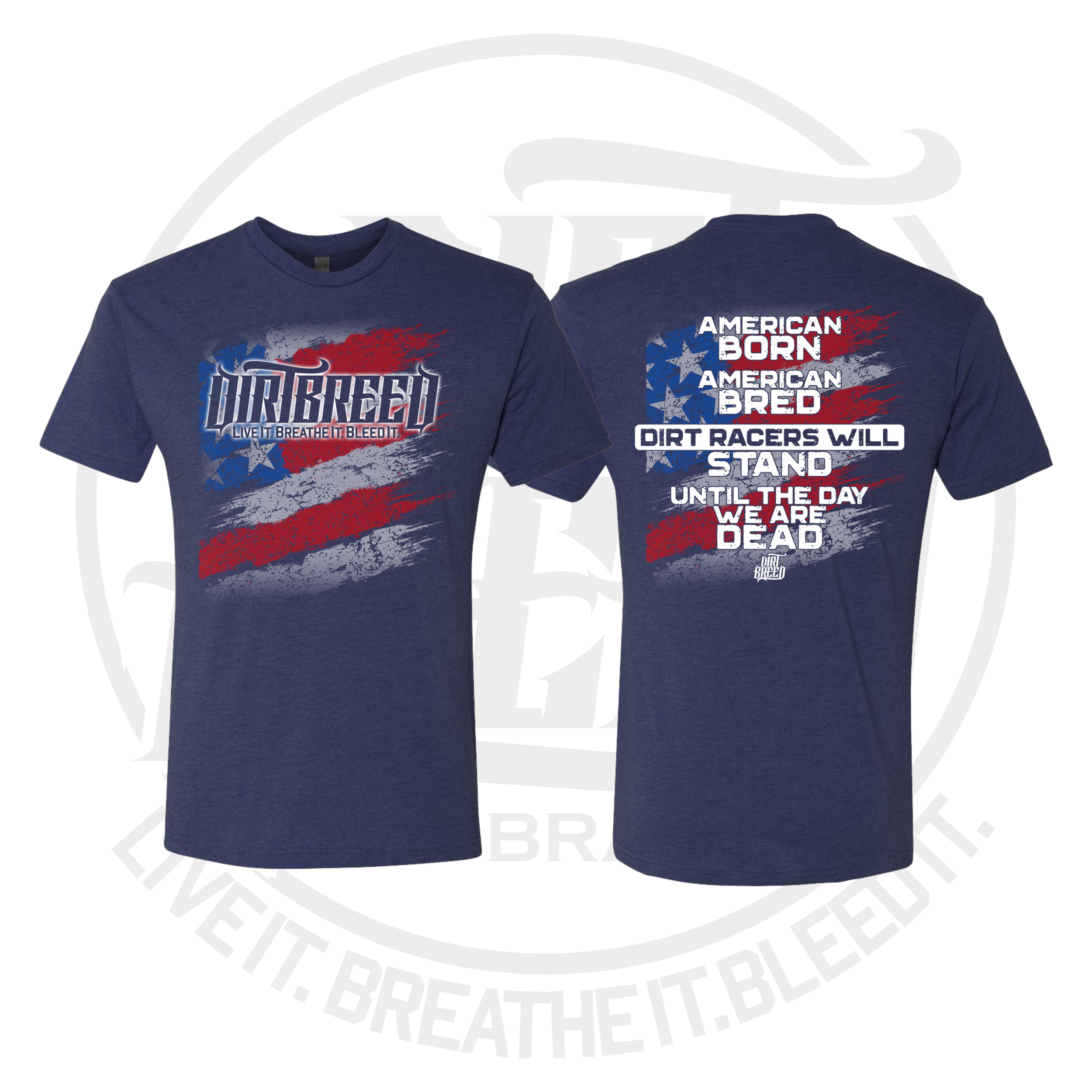 American Bred Dirt Track Racing Shirt