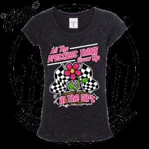DirtBreed Girls Grow up Track Racing Shirt