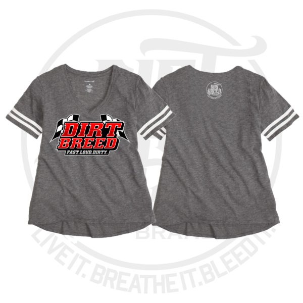 Ladies DIrt Track Racing Football Jersey