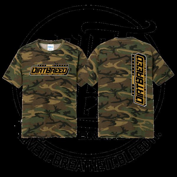 DirtBreed Unisex Racing Shirt Military Camo Dirt Track Racing Shirt