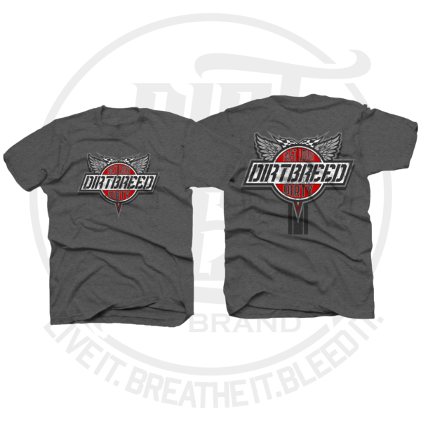 DirtBreed Unisex Racing Shirt Vintage Victory Lane Dirt Track Racing Shirt